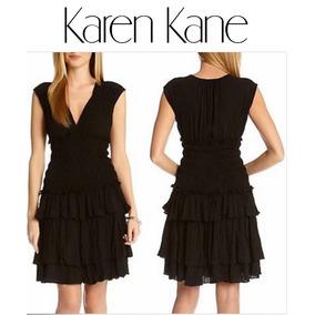 Vestido Karen Keane Fiesta Antro Negro Talla G Unico