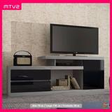 Mesa Tv Con Gabetas, Modular Moderna Minimalista (mtv2)
