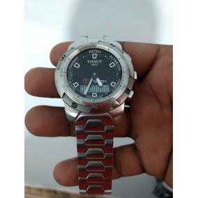 8f4b496c7a4ed Relogio Tissot Safira Todo Em - Relógios no Mercado Livre Brasil