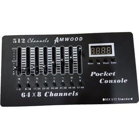 Consola Dmx 512 Incluye Transformador 30 Escenas 64 X 8 Ch