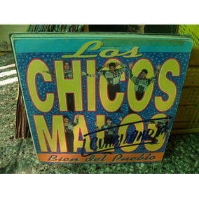 Los Chicos Malos Bien Del Pueblo Lp Vinilo Tropical 1992
