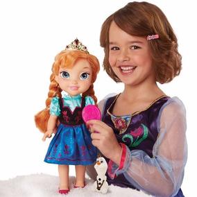 Muñeca Ana Y Elsa Frozen Bebé Juguete De Niña