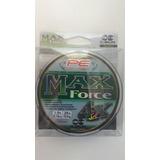 Multifilamento Para Pesca Max Force 5 Rollos De 150m C/u