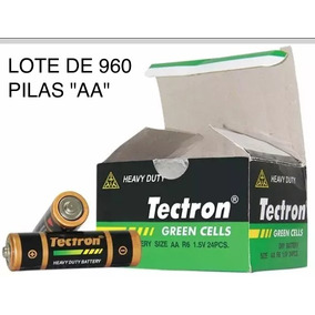 Corrugado De 40 Cajas De 24 Pilas Aa Marca Tectron Original