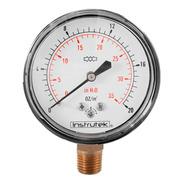 Manómetro 20 Oz / 35 Inh2o Para Gas Lp Y Nat. Baja Presión