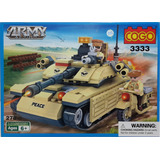 Tanque Y Moto De Guerra - Lego Alternativo Cogo- Army Action