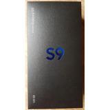 Samsung Galaxy S9 128g Preto Nacional Lacrado 12x S/ Juros