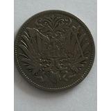 Moneda Antigua Alemana En Plata De 20 Pfening De 1893