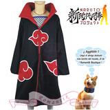 Capa Abrigo Akatsuki Itachi Cosplay Disfraces Anime Naruto
