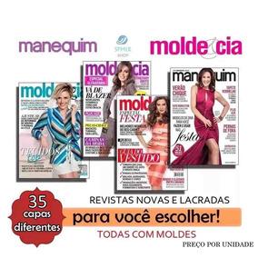 Revistas Moda Moldes Cia Manequim Roupa Corte E Costura Nova
