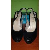 Zapato Cerere Color Negro Número 37