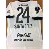 Camisa Olimpia Do Paraguai Libertadores 2017 Completa