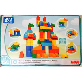 Mega Blocks Bolsa Para Construir Deluxe 150 Pzas