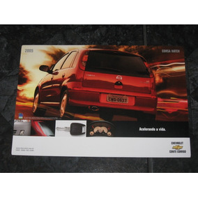 Folder / Catálogo / Pôster Chevrolet Corsa Hatch 2005