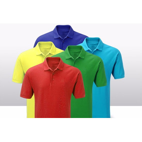 Camisa Camiseta Tipo Polo Calidad Nacional Hombre Económico