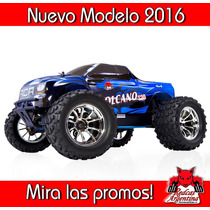 Camioneta Rc Nitro Explosion Redcat Volcano S30+kit Y Combu