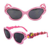 Gafas Niños Mariposa Gafas De Sol Rosadas Objetivos Marco D