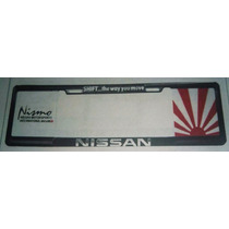 Marco Porta Placa Europeo Nissan 504-90001