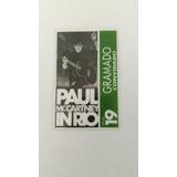 Ingresso Paul Mcartney In Rio Muito Raro De Convidado