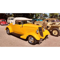 Hot Rod Ford 1934 V8 Conversível Chassi Inox New Car
