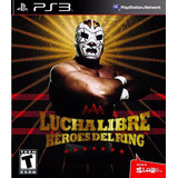 Ps3 - Lucha Libre Aaa (acepto Mercado Pago Y Oxxo)