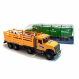 Camión Hacienda Transportador Con Animales A Fricción