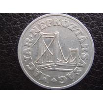 Hungria - Moneda D 50 Filler Puente De Elizabeth , Año 1973