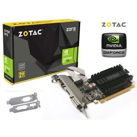 Placa Video Geforce Gt710 2gb Ddr3 Dx12 P/ Até 3 Monitores