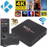 Convertidor Smart Tv Box Mxq Pro 4k Android 6 3d + Teclado