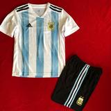 Conjunto Para Niño Argentina 2018 Playera Y Short