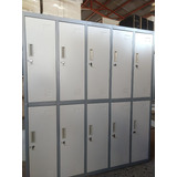 Lockers Metalicos 10p