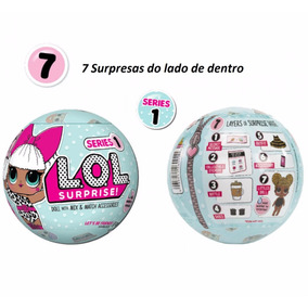 Boneca Lol Surprise Doll Surpresa Series 1 Pronto Envio