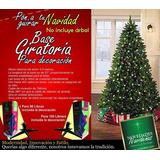 Base Giratoria Para Arbol De Navidad Metalica