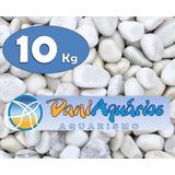 10kg Pedras Para Jardins, Seixo Branco, Decoração Em Vasos