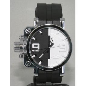 Reloj Oakley Gear Box White Black Ultrasize Original Ultimo