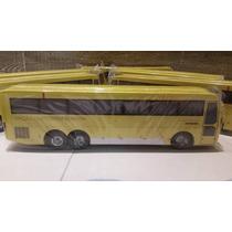 Miniatura De Ônibus Bombon Itapemirim Em Madeira S/retroviso
