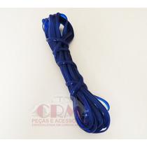 Filete De Borracha Friso Kombi Modelo Luxo - Azul