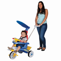 Triciclo Infantil Fit Trike Com Haste E Som Magic Toys