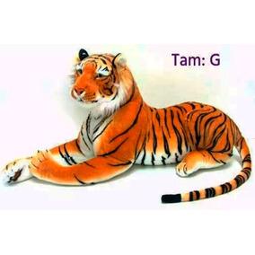 Tigre Pelúcia Grande 90cm Decoração Importado Com Inmetro