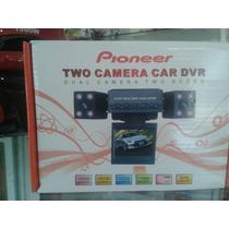 Camara Para Vehiculos Dual Dvr Pioneer Vision Nocturna