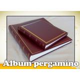 Album Pergamino/cocido Libro De Firmas/60y100 Pag/scrapbook