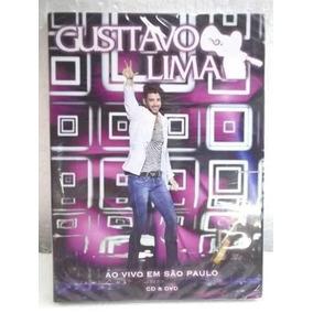 Dvd + Cd Gusttavo Lima Ao Vivo Em São Paulo