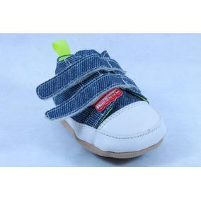 Tenis Little Steps Mezclilla Para Niño 10, 11 O 12, M 125-05