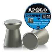 Balines Apolo Champion 5.5 X 250 U Peso 1,10g 17grains Plano