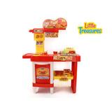Lanchonete Brinquedo Infantil Com Acessórios Frete Grátis