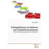 Erfolgsfaktoren Im Rahmen Von Produktinnovationen: Der Schm