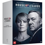 House Of Cards - As Cinco Temporadas Completas