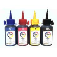 Tinta Recarga P/ Hp Lex Canon Bm Chemical Kit 4 Cores 400ml