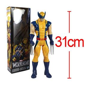Pronta Entrega Wolverine 30 Cm Hasbro Marvel Titan Hero Seri