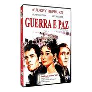 Guerra E Paz - Dvd - Audrey Hepburn - Henry Fonda - Novo